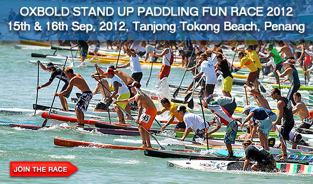 SUP Fun Race Penang Malaysia