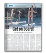 MalayMail Get On Stand Up Paddle Boards
