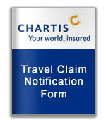 Chartis Travel Claim Notification Form