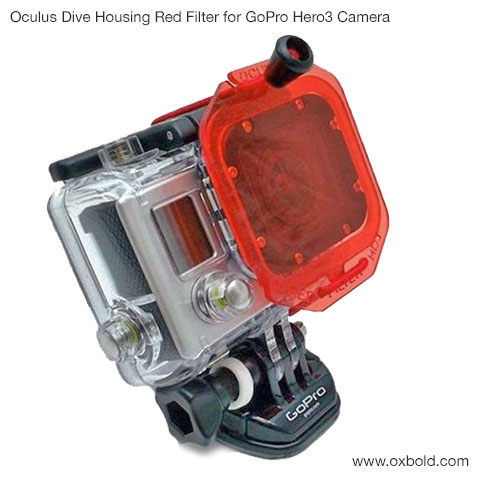 Oculus Dive Housing Red Filter for GoPro Hero3 Camera