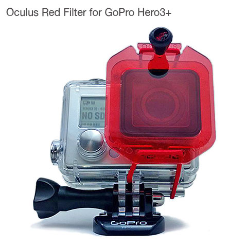Oculus Red Filter for GoPro Hero3+ Camera