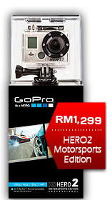 GoPro HD Hero2 Motorsports Camera