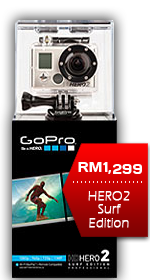 GoPro HD Hero2 Surf Camera