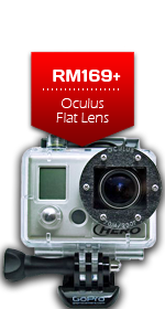 Oculus Flat Lens for GoPro Camera